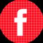 Facebook red check circle social media icon