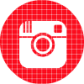 instagram red check circle social media icon