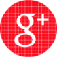 red check social media icon google plus