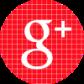 red check social media icon google plus